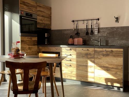 Gîte-COTE REMPART-Confort-Salle de bain-Terrasse