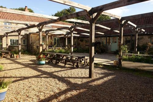 Courtyard- communal area