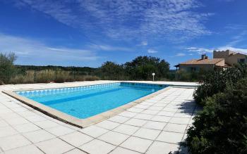 Grande piscine partagée, 5 x 10 m, sans chlore