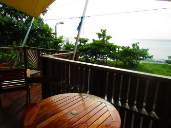 Studio Luth, espace terrasse, vur mer