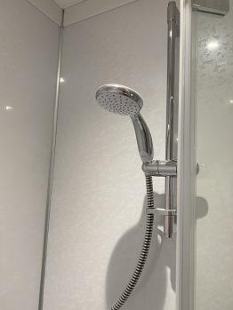 Mains fed showers