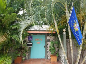 The Front Door to Suite Dreams Inn Key West In the Conch Republic