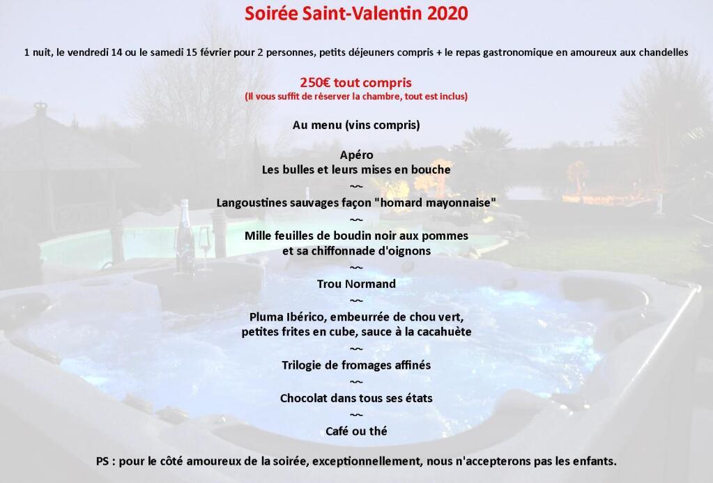 Soirée Saint Valentin 2020