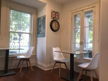 Harrogate House Cafe seating