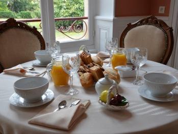 Comme à la maison . Un bon petit déjeuner pour démarrer la journée.