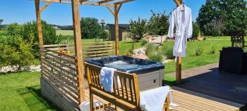 Cottage Végétal Jacuzzi privatif