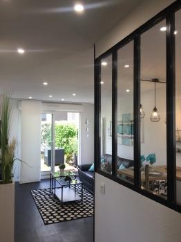 T2 JARDIN-Appartement-Moderne-Salle d'eau-Vue sur Jardin