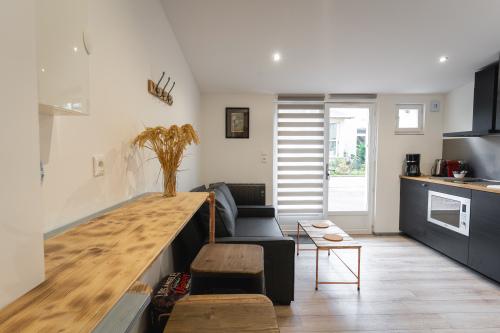 Appartement-de Luxe-Douche-Vue sur la cour