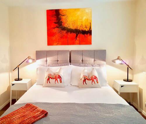 Master Bedroom - bed view