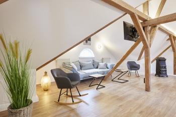 Apartment-Superior-Ensuite Dusche-Stadtblick - Basistarif
