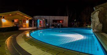Pool und Saunalandschaft