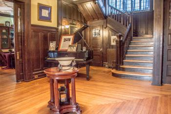 Historic Benner Mansion Main Foyer