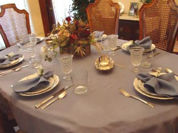 Dining room where guests enjoy their breakfast.