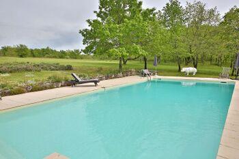 la piscine du gite