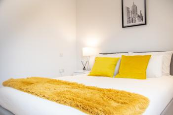 Grandeur IV Executive Apartment Central London - Bedroom