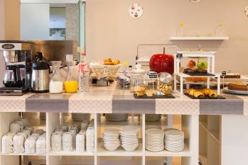 Hotel Miera zona buffet