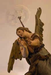 L'ange , Sculpture monumentale 18 ème