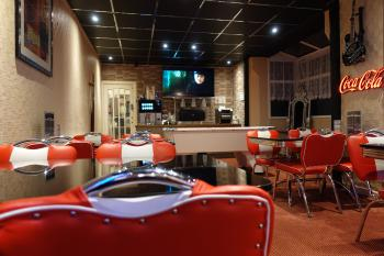 5 Star rated food - the burgers and fries are the best in Blackpool