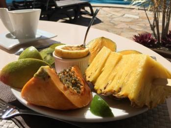 Petit-déjeuner tropical