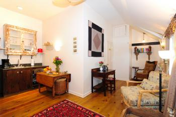 Common Area - Kitchenette in the Carriage House
