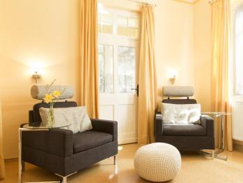 Suite 35qm mit Gartenblick
