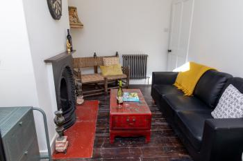 Cosy Living Room adjacent to Dining Room