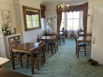 Dining room at Maple Bank