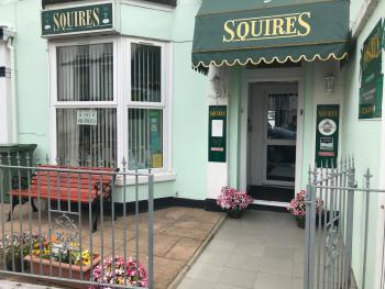 Squires Guest House Ltd - Front Entrance