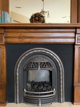 Fire Place in Judge Coulter Suite