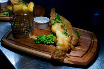 Fish & chips, of course!