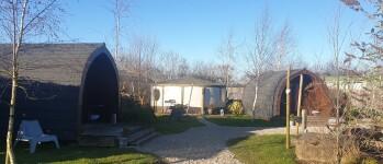 Pods & Yurt