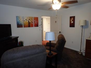 Suite 203 Living Room