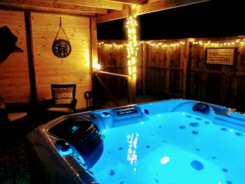Additional cost - The Huntsman hot tub garden