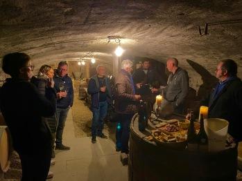 Château des Janroux La cave