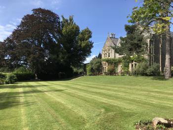 Main lawns