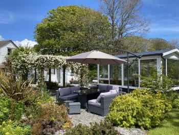 Outdoor Seating by the Summerhouse