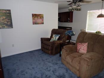 Suite 201 Living Room