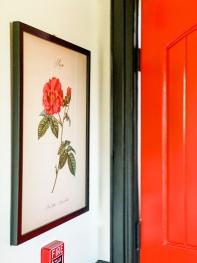 Rose Cabin Bedroom