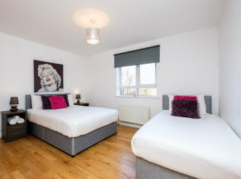 Spacious Triple Bedrooms