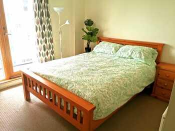 Harbourside view - Bedroom