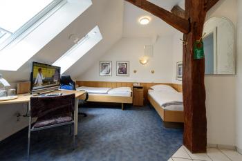 Zweibettzimmer-Standard-Eigenes Badezimmer-Gartenblick - MyWeb