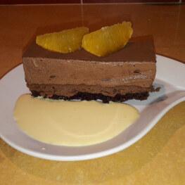 A la table d'hôtes : le Trianon (dessert tout chocolat)