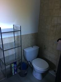 WC dans le salle d'eau