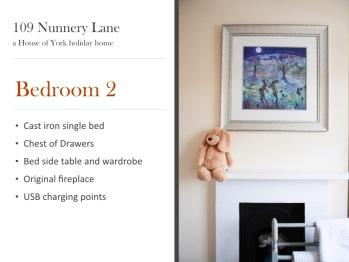 Single bedroom summary