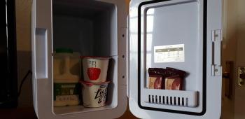 Your mini fridge