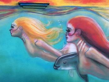 Mural Mermaids