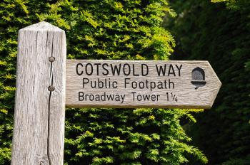 Beautiful Broadway village is on the National walking trail The Cotswold Way