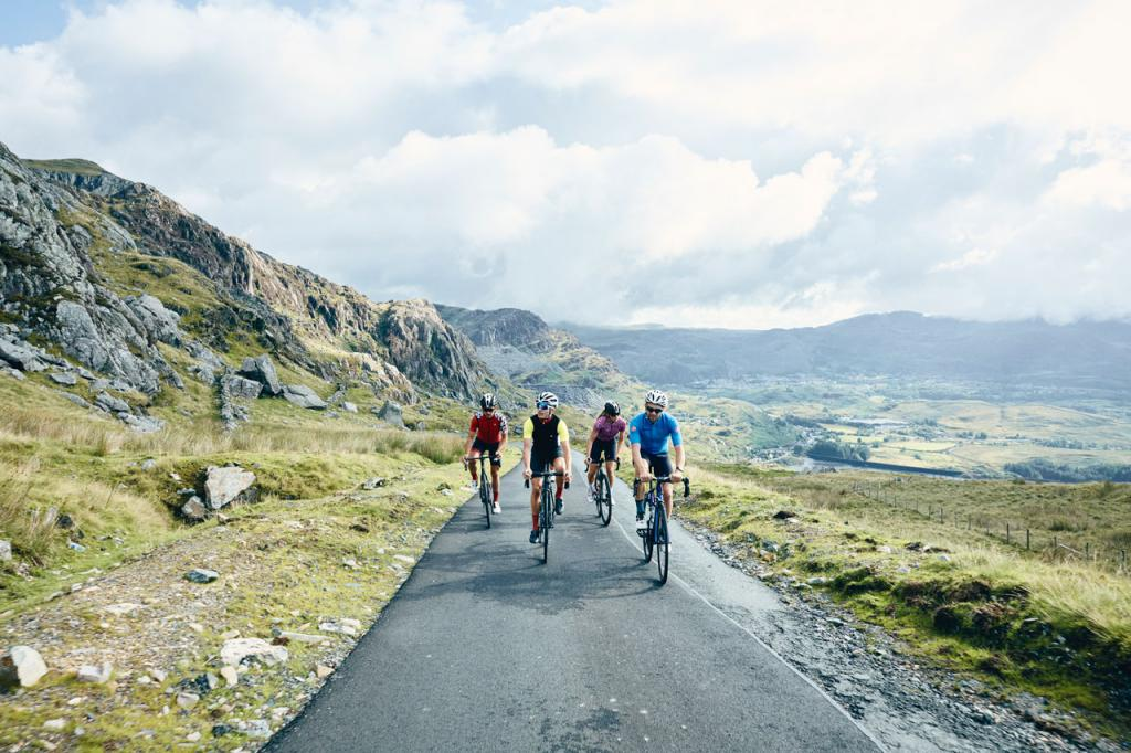 Head of the valley cycling route