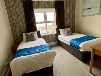 Twin room-Deluxe-Ensuite-Sea View - Base Rate