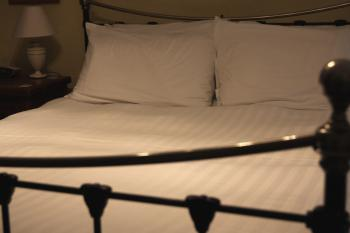 One of our comfy King sized beds
